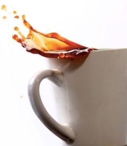 Scrape and Blot Coffee Stains - Regency DRT