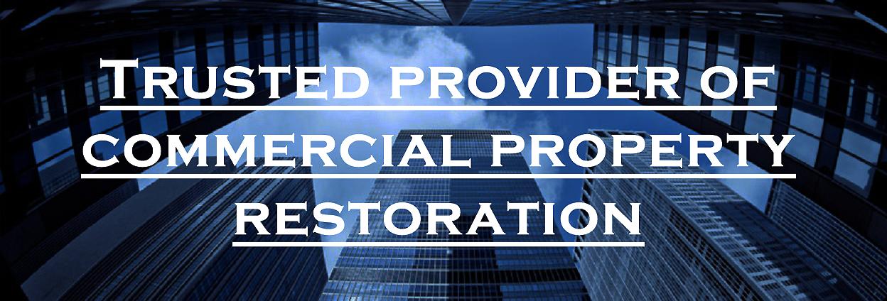 Trusted Provider of Commercial Property Restoration - Regency DRT