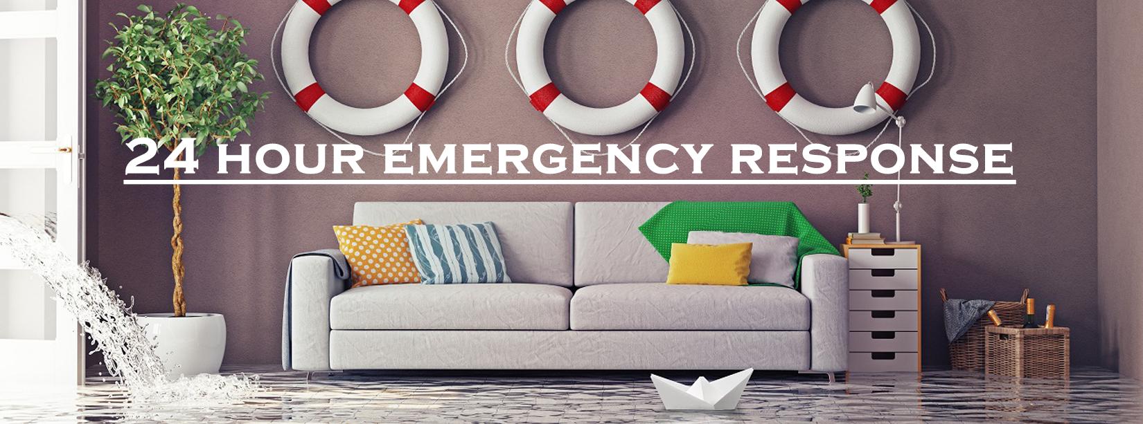 24 Hour Emergency Restoration Response